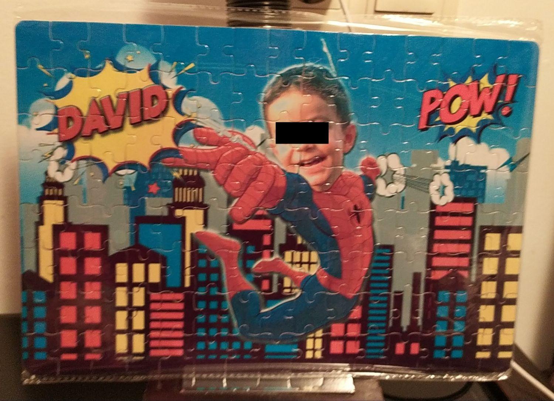 Super Zings puzzle personalizado con foto. Envío a domicilio.