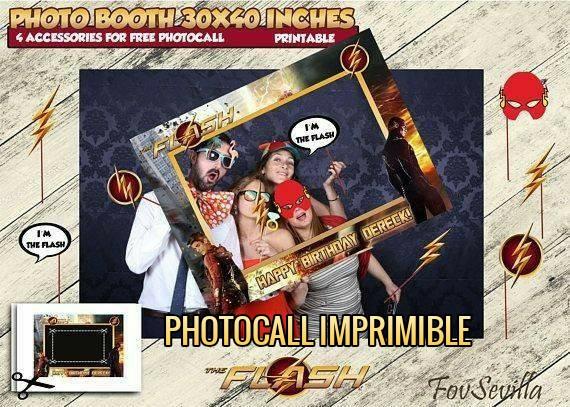 FLASH Photocall, archivo digital personalizado