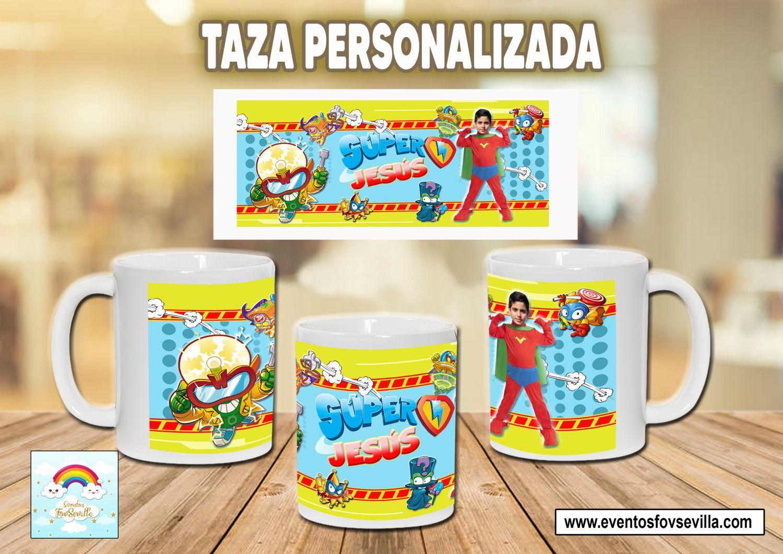 Taza Super Zings personalizada con foto