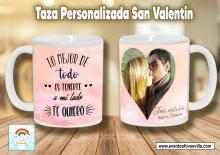 Tazas San Valentín personalizadas entrega  a domicilio