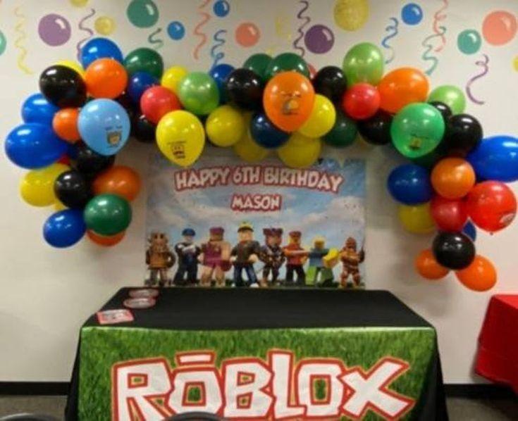 Roblox telon de fondo, frontal de mesa Roblox, Archivo Digital personalizado, imprimible