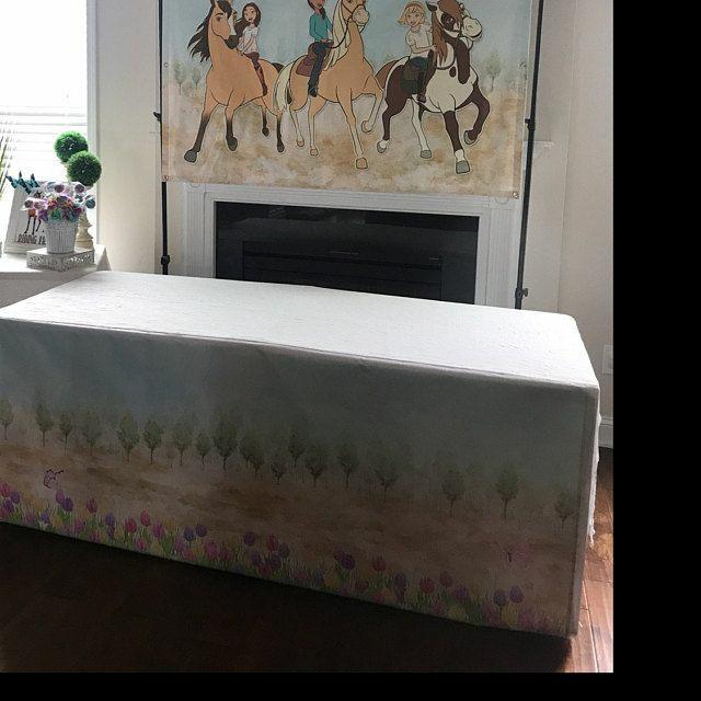 SPIRIT RIDING FREE Telon de fondo, frontal de mesa Spirit cabalgando libre, Archivo digital personalizado, imprimible