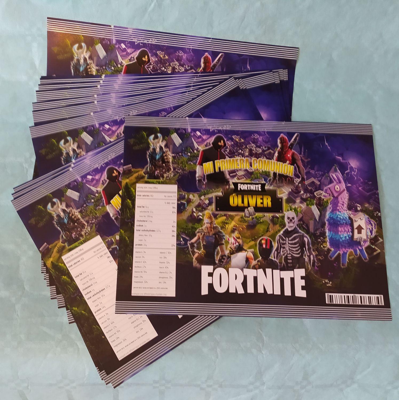 Fortnite kit imprimible, archivo digital, personalizado