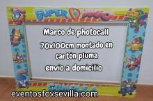 Super Zings photocall 70x100cm.Envio a domicilio