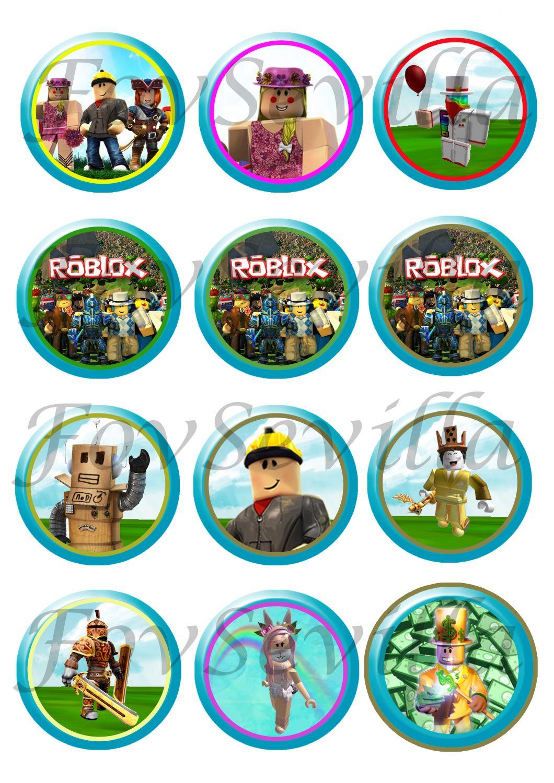 ROBLOX KIT CUMPLEAÑOS, Imprimibles fiesta Roblox, Descarga Digital, Roblox invitación, Roblox banderines, Roblox etiquetas, Roblox cupcakes