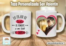 Tazas personalizadas San Valentín entrega  a domicilio