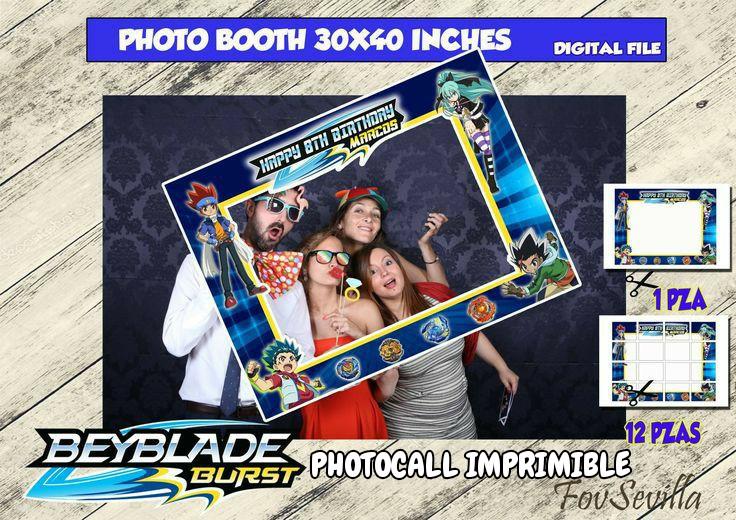 BEYBLADE Photocall, archivo digital