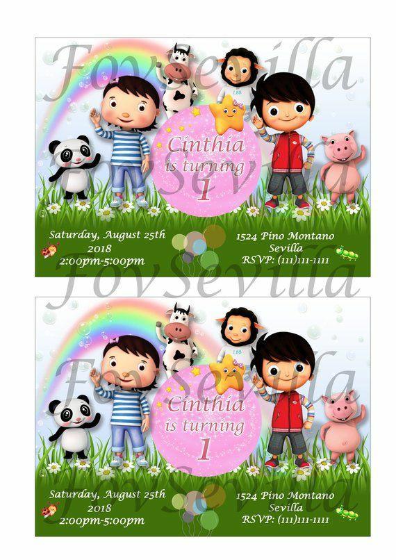 Little Baby Bum niña kit cumpleaños, Archivo Digital personalizado, imprimible