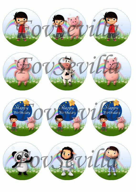LITTLE BABY BUM Kit cumpleaños, Archivo Digital personalizado, imprimible